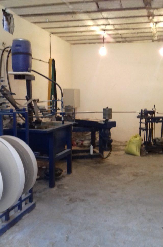 دستگاه تولید لوله مقوایی